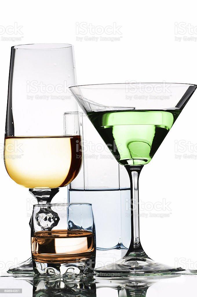 Glassware royalty-free stock photo