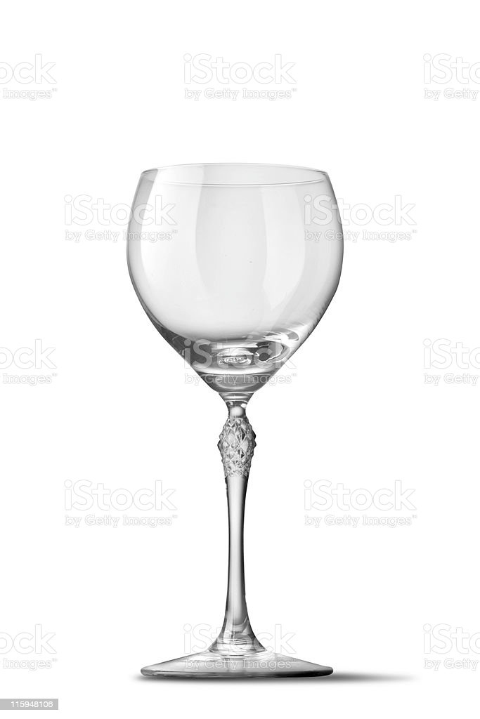Glassware: Wineglass royalty-free stock photo