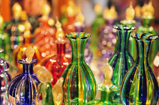 Glasswork on Murano Island, Italy