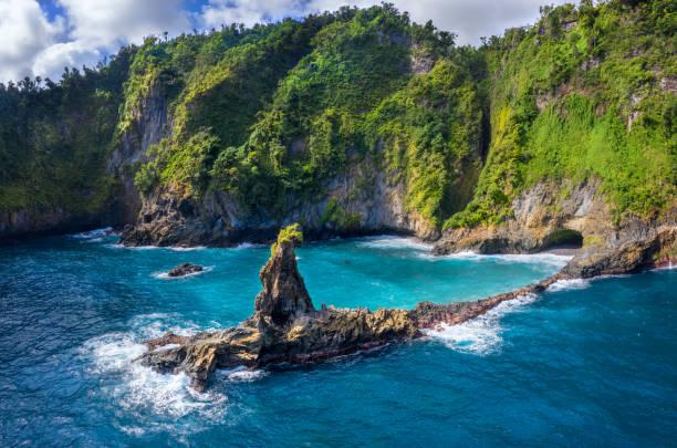 Glassy Point, Dominica. – Foto