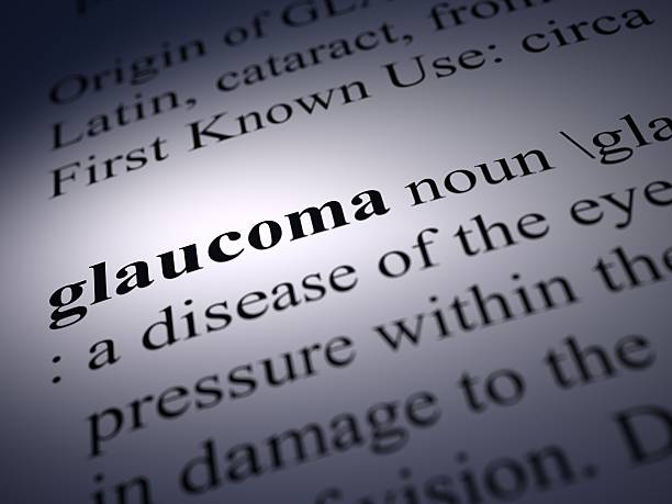glaucoma stock photo