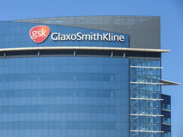Sede de Glaxo Smith Kline, Londres - foto de stock