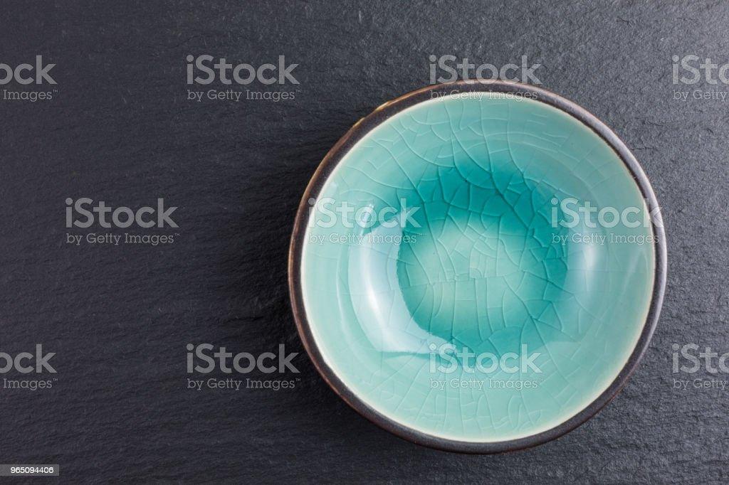 glazed ceramic bowl royalty-free stock photo