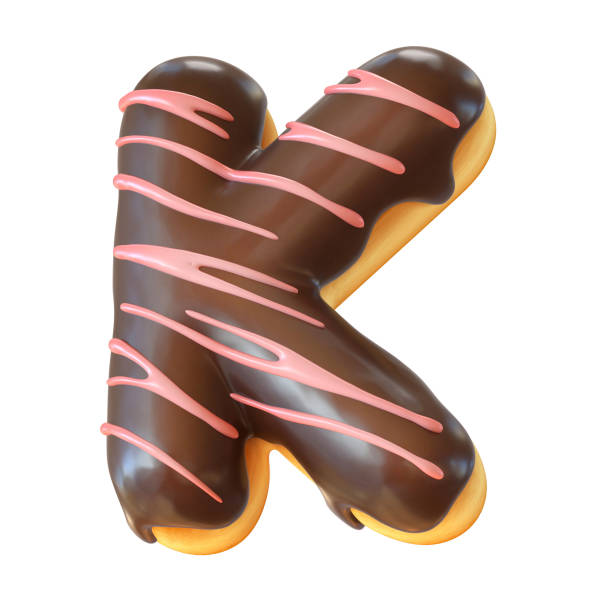 Top 60 Alphabet Food Letter K Cookie Stock Photos, Pictures, and