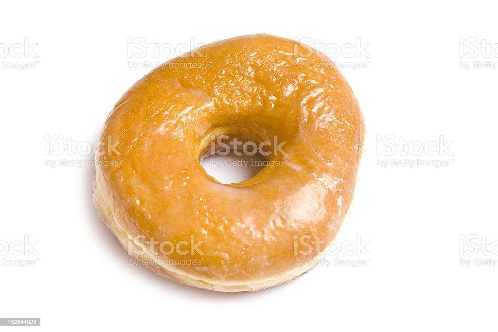 glazed donut royalty-free stock photo