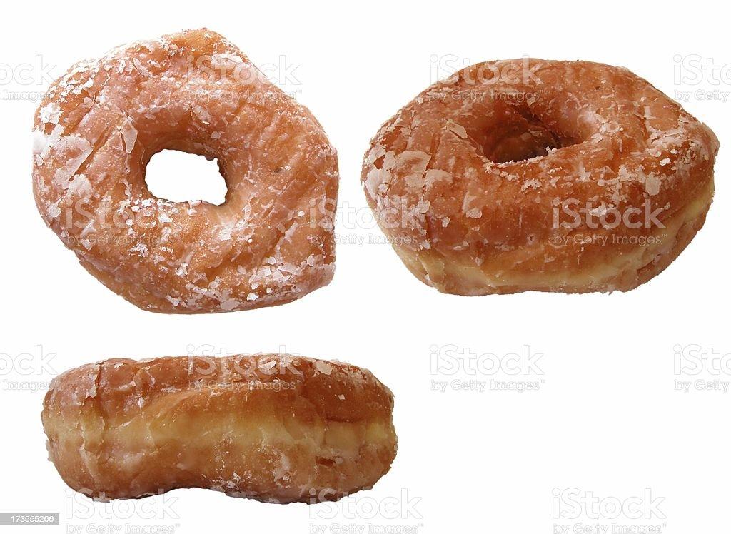 glazed donuts royalty-free stock photo