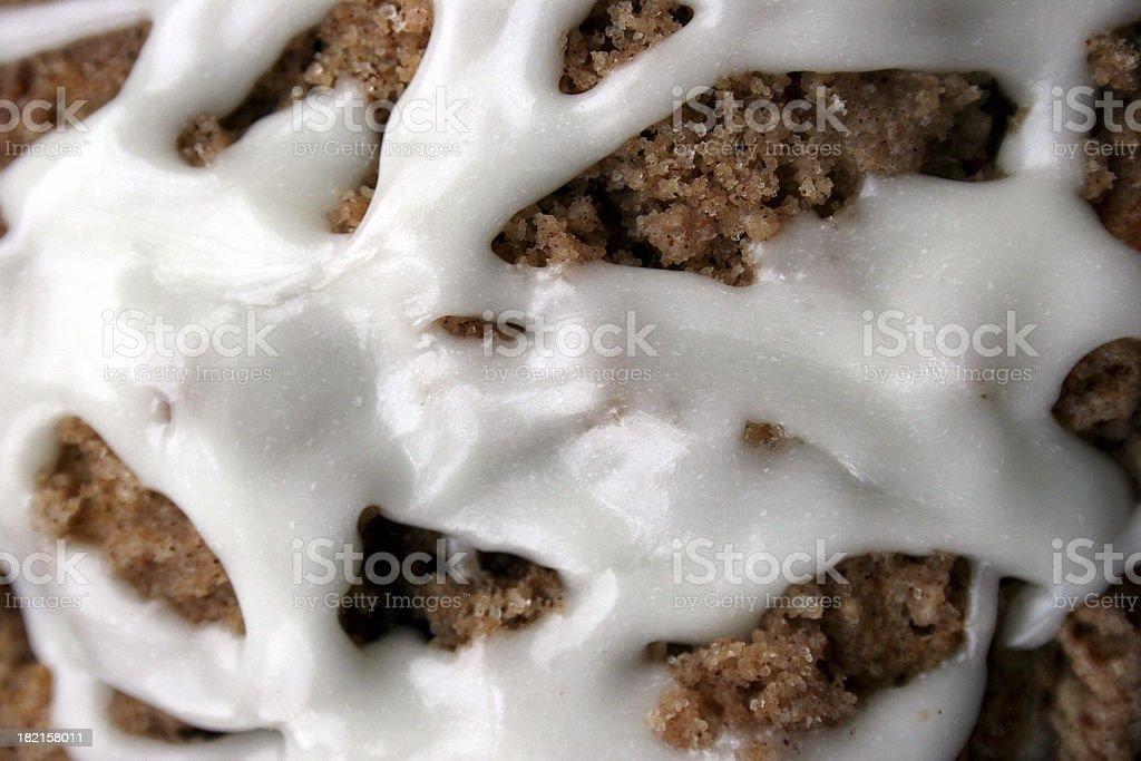 Glazed Muffin Background royalty-free stock photo