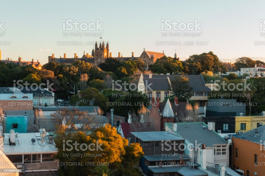 Vue de Glebe et University of Sydney - Photo