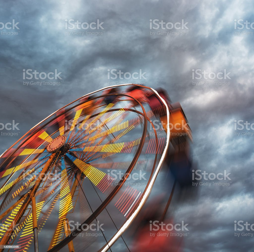 Gleefully Moody stock photo
