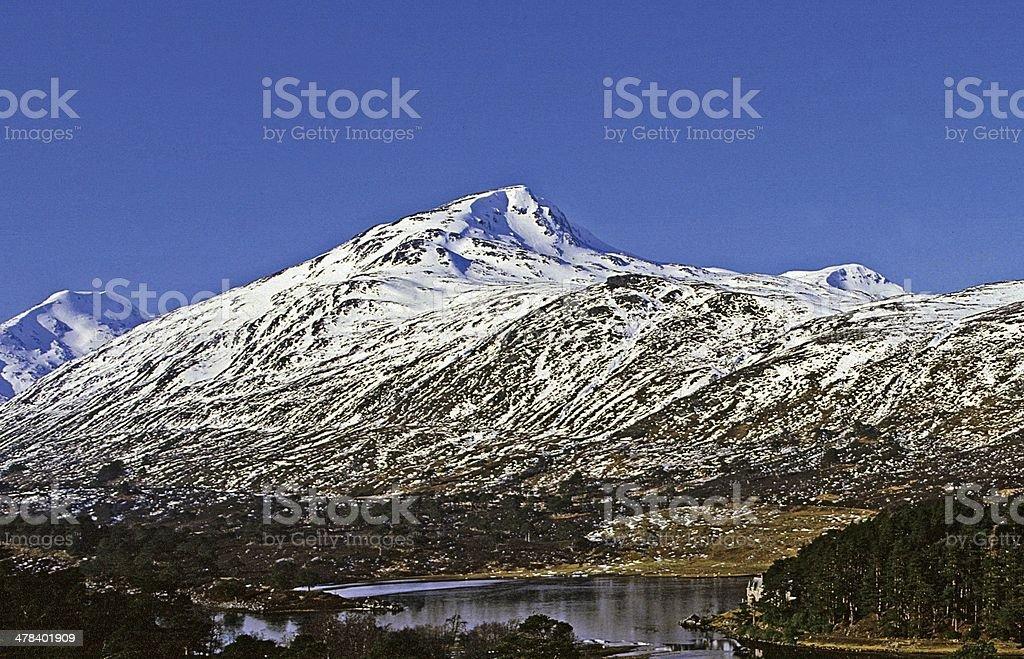Glen Affric Inverness-shire Scotland stock photo