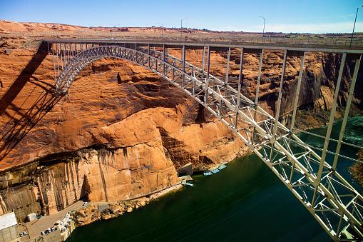 Glen Canyon Bridge - Colorado river