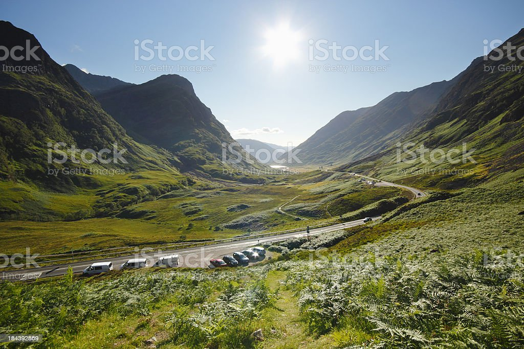 Glen Coe pass stock photo