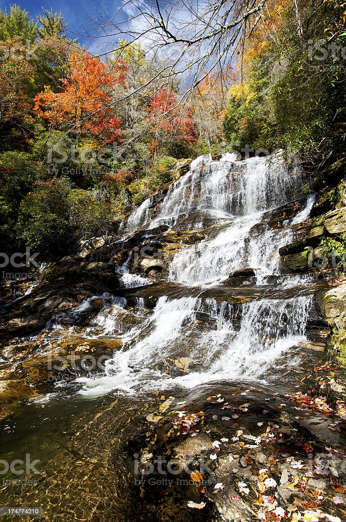 Glen Falls royalty-free stock photo