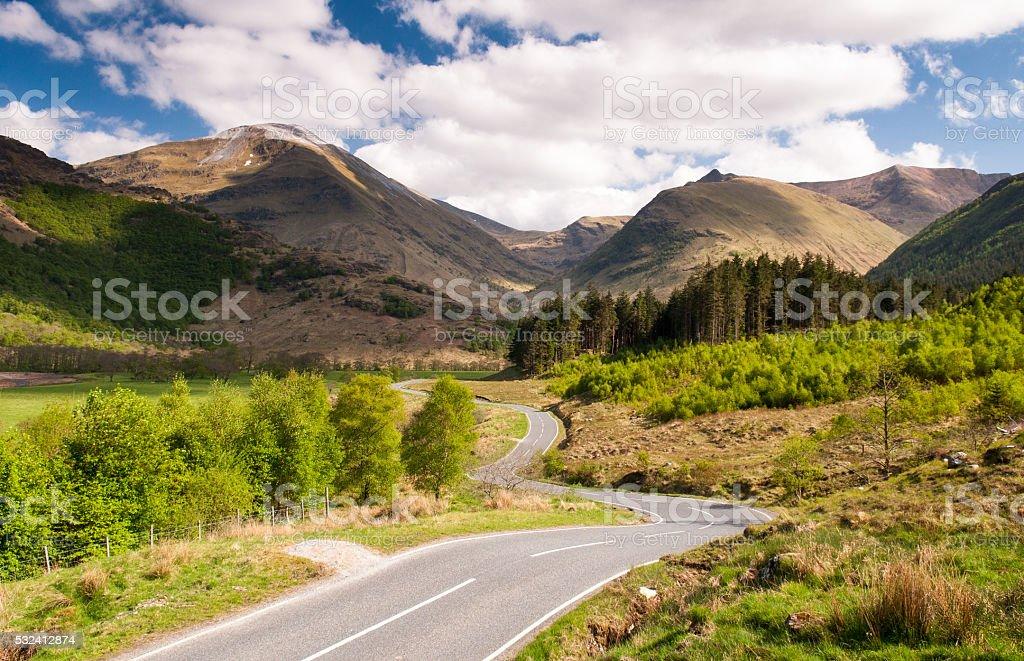 Glen Nevis stock photo