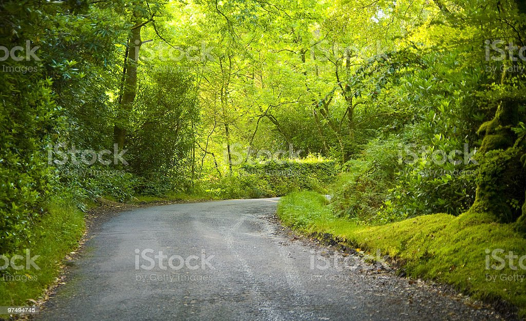 Glen Rosa road royalty-free stock photo