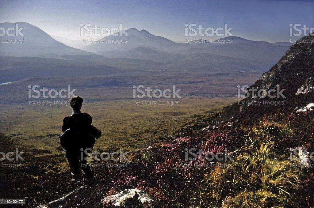 Glen Spean & Grey Corries Range, Lochaber stock photo