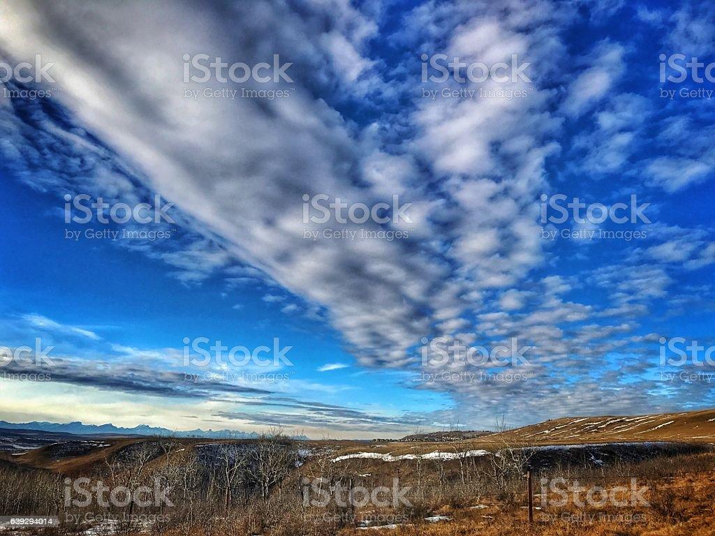 Glenbow Ranch Provincial Park,Cochrane,Alberta,Canada stock photo