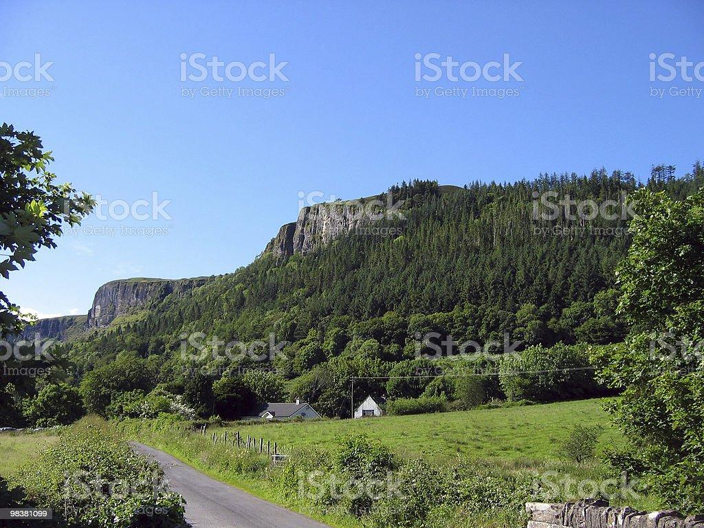 Glencar Waterfal royalty-free stock photo