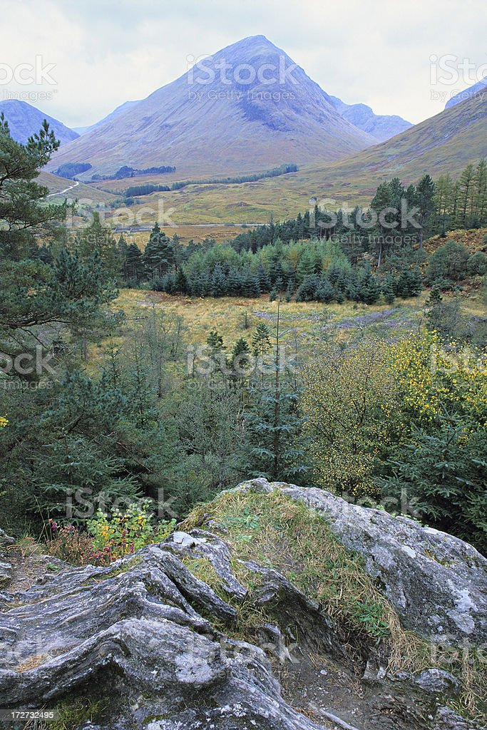 Glencoe Landscape royalty-free stock photo