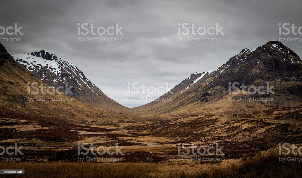 Glencoe stock photo
