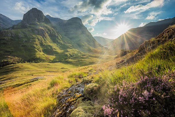 Glencoe, Scotland stock photo