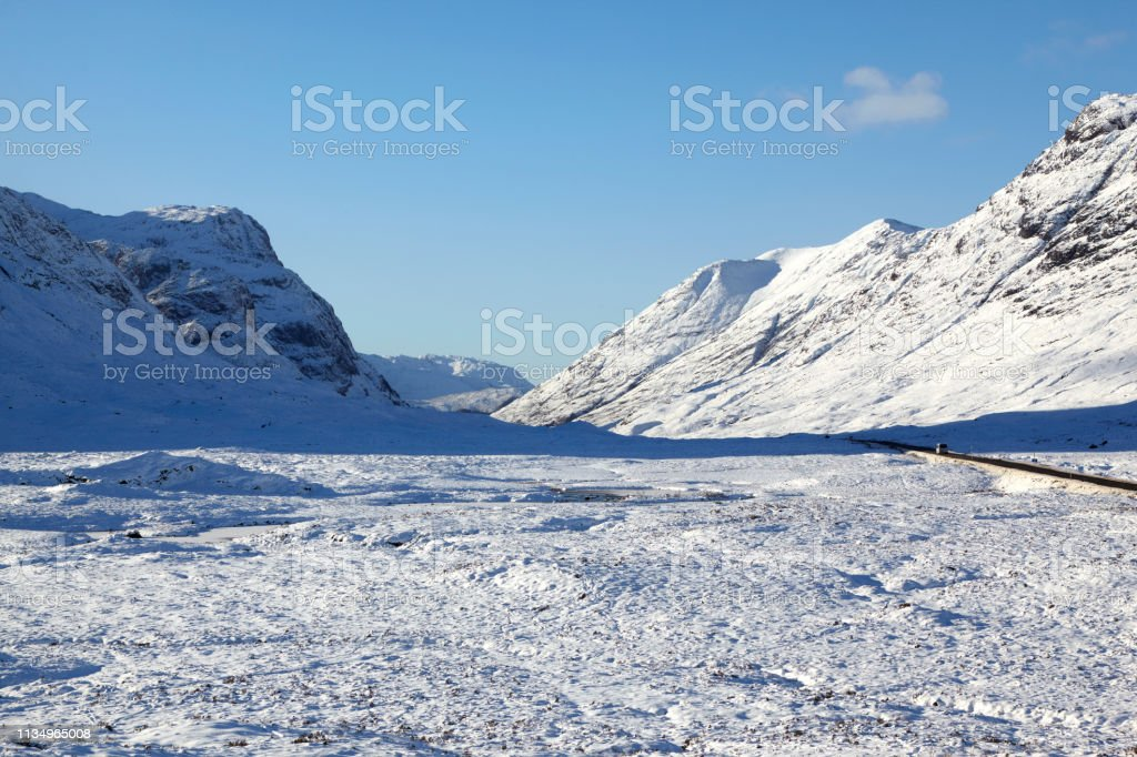 Glencoe, Scottish Highlands, Scotland, UK stock photo