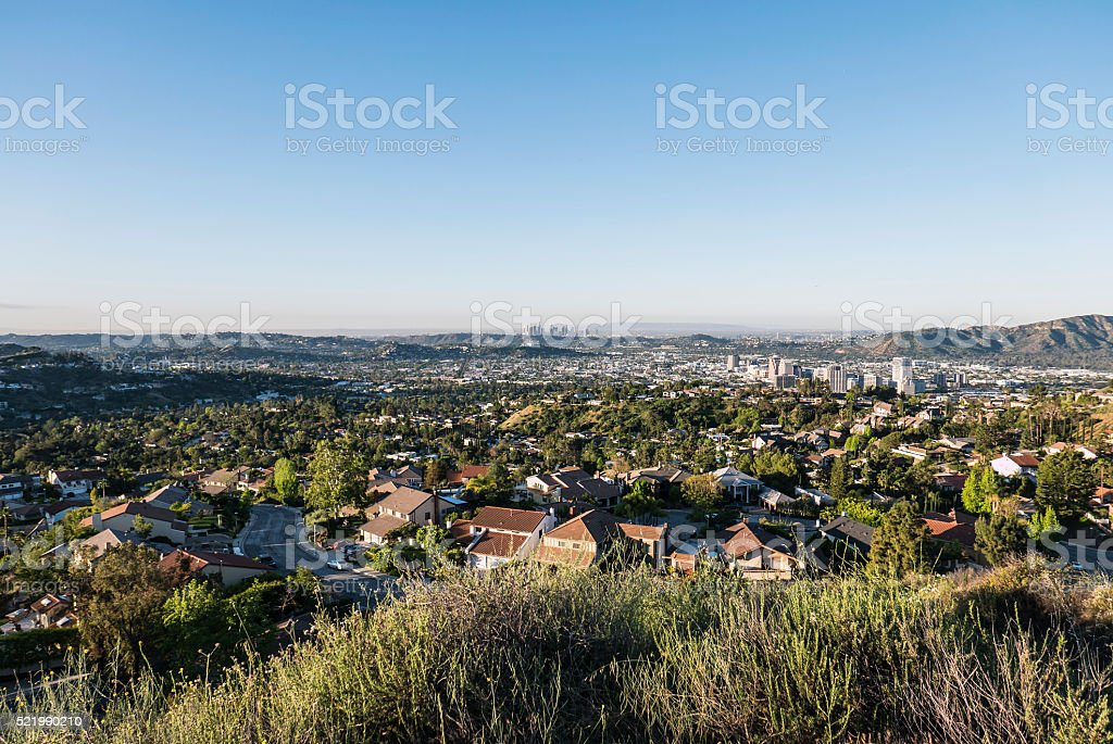 Glendale California Morning View stock photo