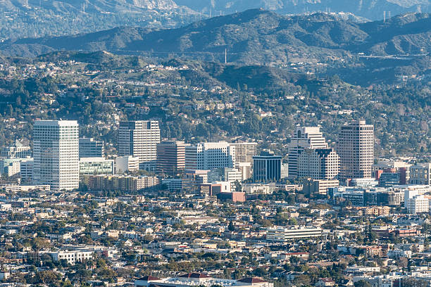 glendale california - san fernando valley stock photos and pictures