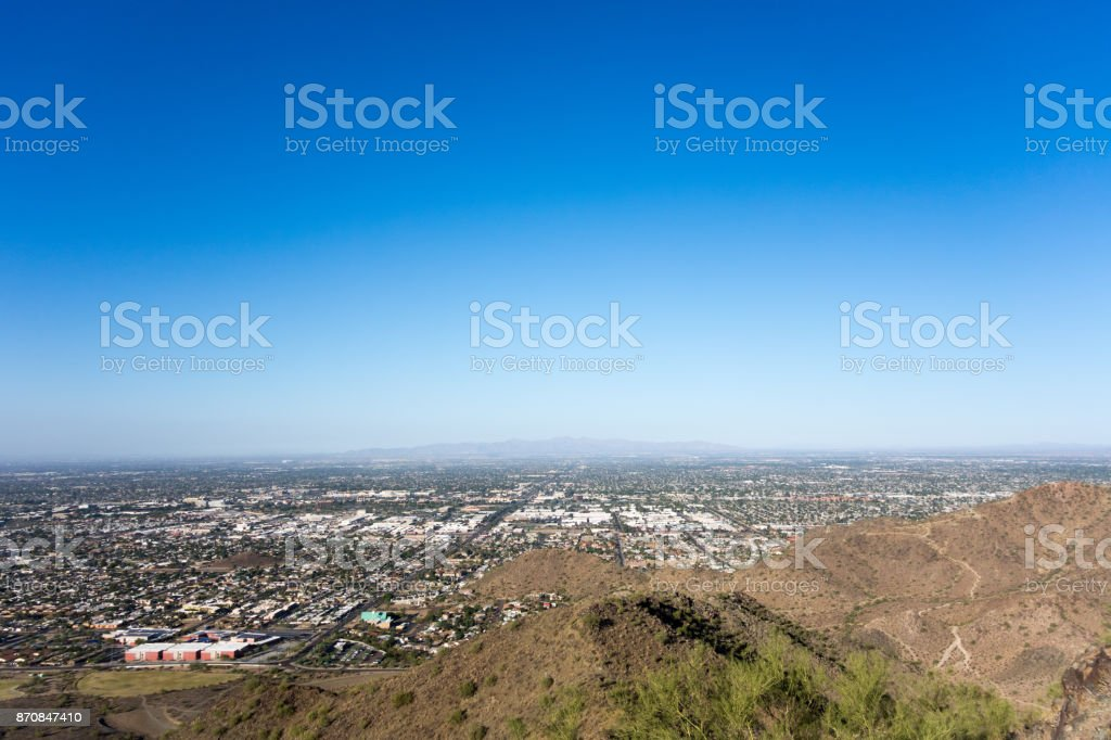 Glendale, Peoria and Phoenix, AZ stock photo