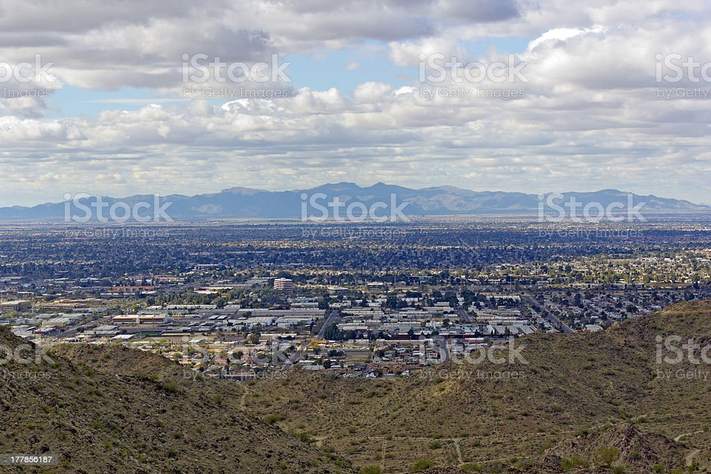Glendale, Peoria in Greater Phoenix area, AZ royalty-free stock photo