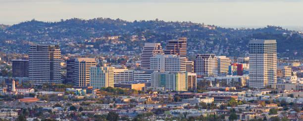 Glendale Skyline - California stock photo