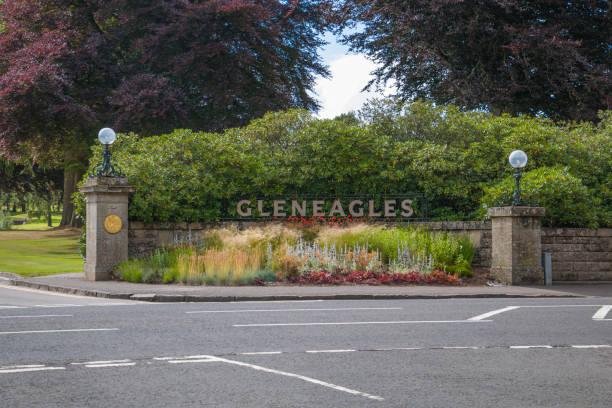 Gleneagles stock photo