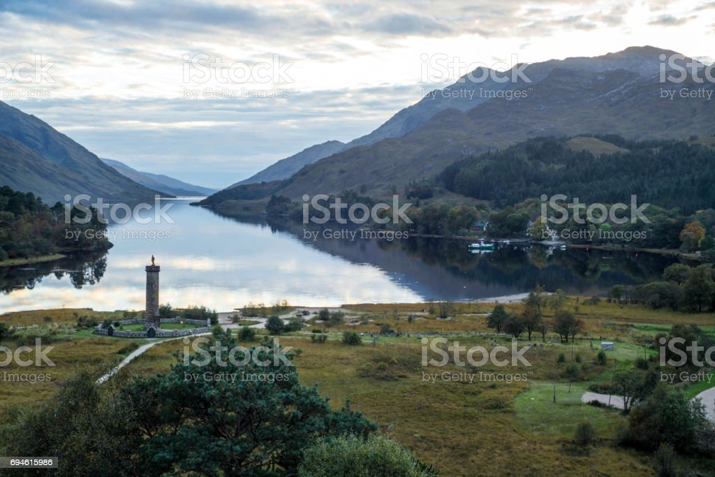 Glenfinnan Scotland stock photo