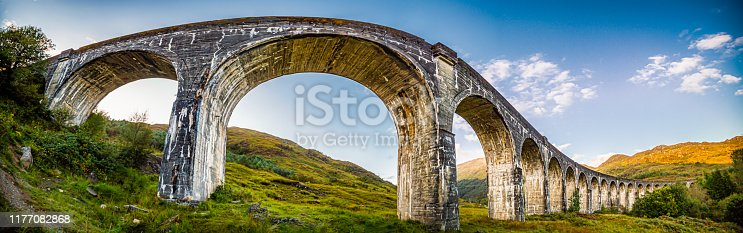 Glenfinnan Viaduct Processed to look magical diffirent