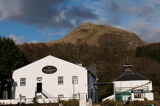 Glengoyne Distillery stock photo