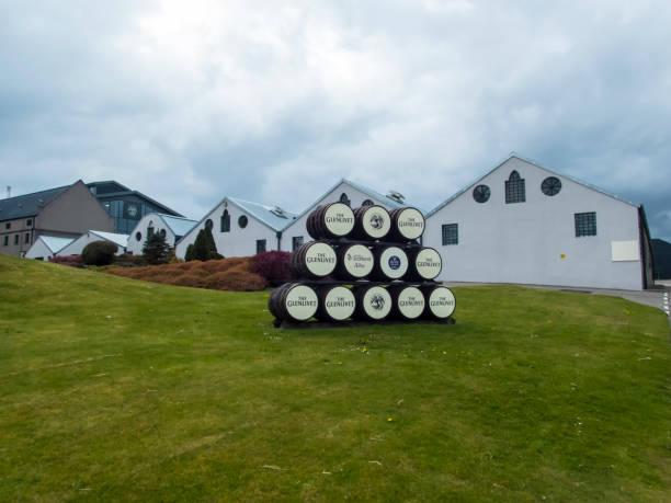 Glenlivet Distillery stock photo