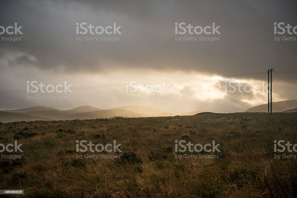 Glenveagh, Donegal, Ireland royalty-free stock photo
