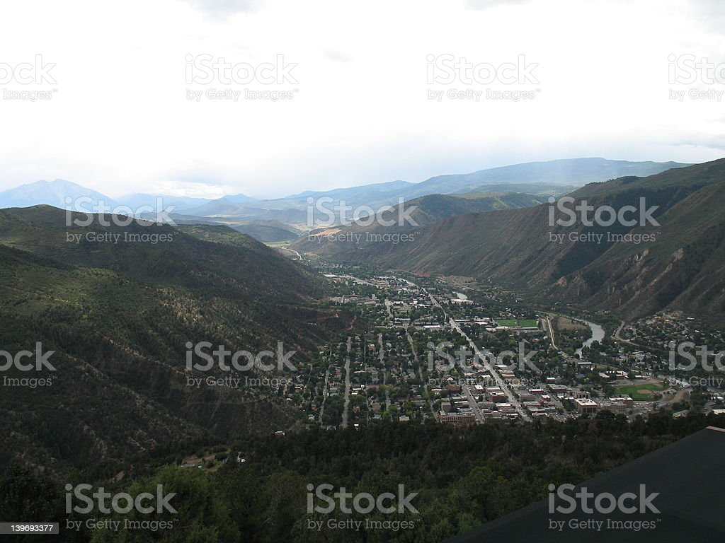 Glenwood Springs royalty-free stock photo