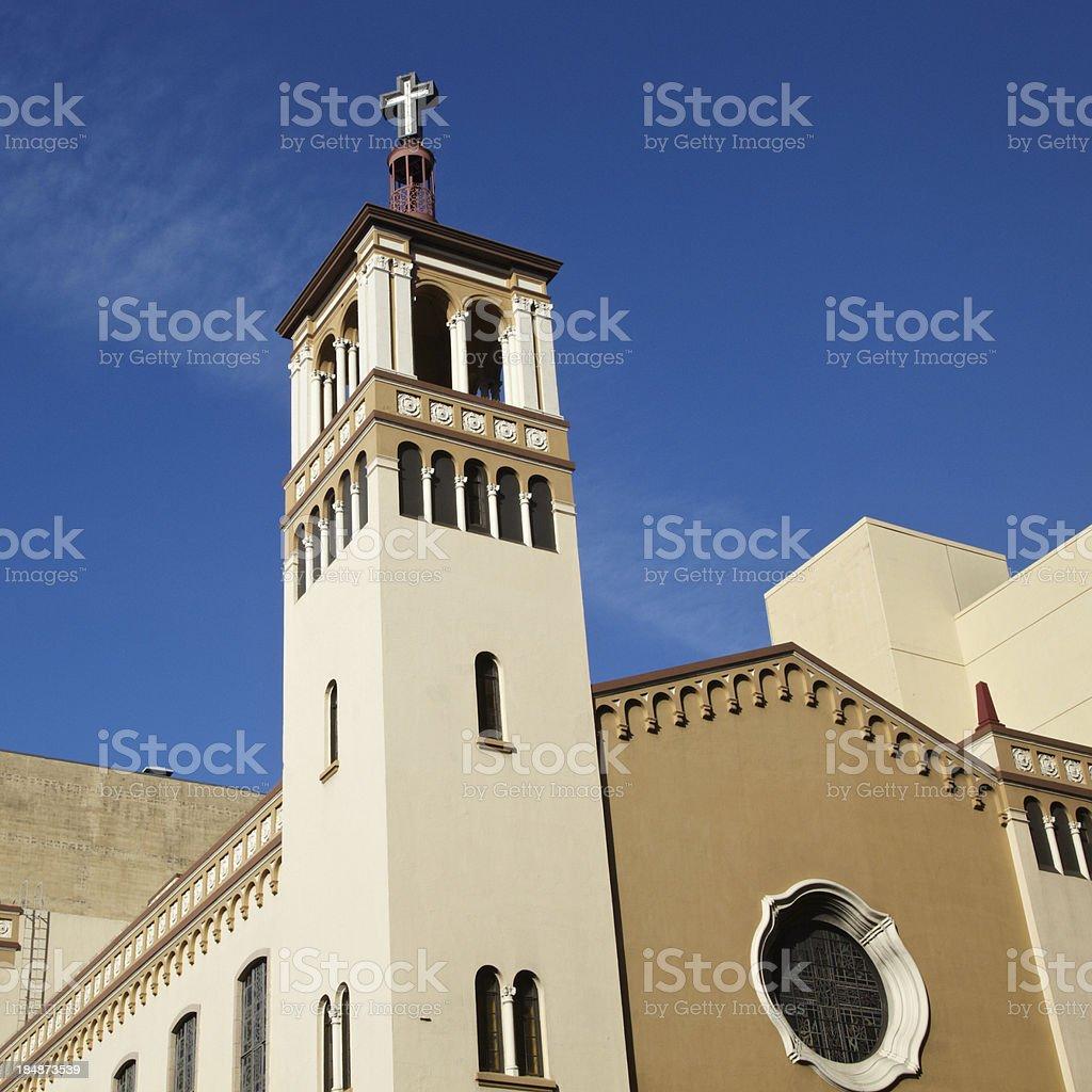 Glide Memorial Church, San Francisco royalty-free stock photo