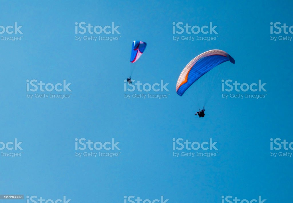 Glide together stock photo