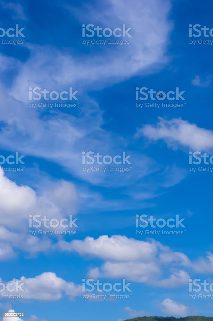 Glider, sky, clouds foto de stock royalty-free