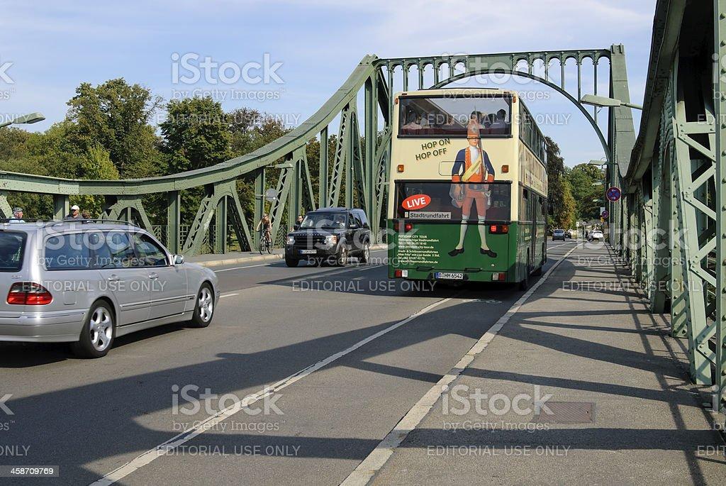 Glienicker Bridge stock photo