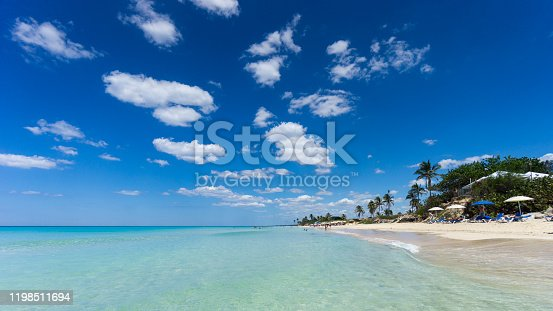 istock Glimpse at a portion of beautiful Playas del Este, Beaches of the east, which area is part of Havana. 1198511694