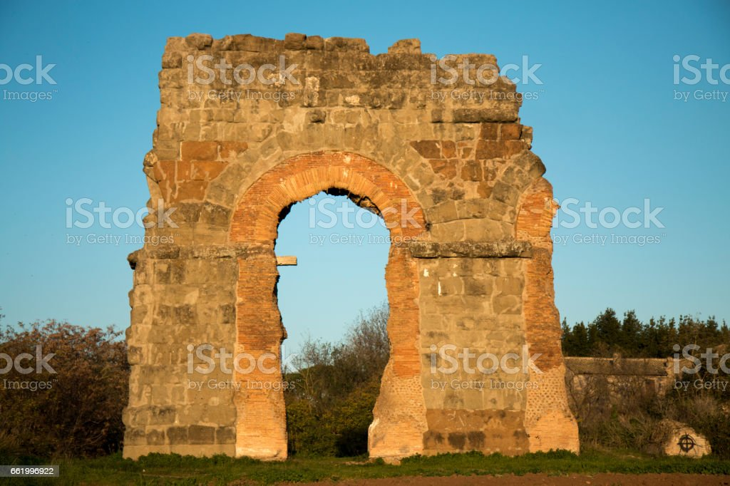 scorcio di roma royalty-free stock photo