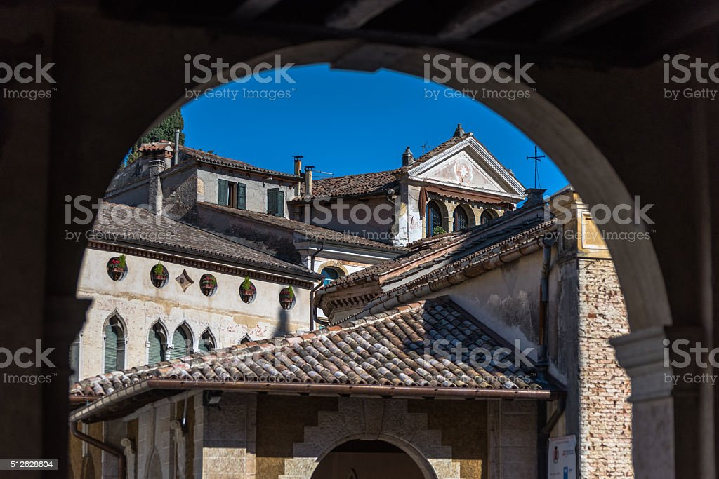 glimpses of Asolo stock photo