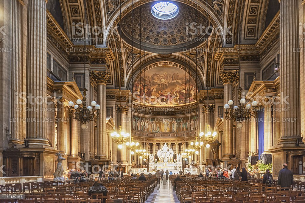 L'église de la Madeleine, Paris France stock photo