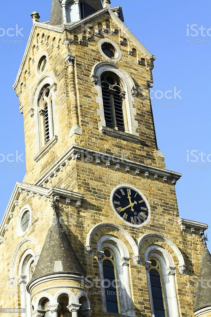 Église Saint-Antoine in Verviers royalty-free stock photo