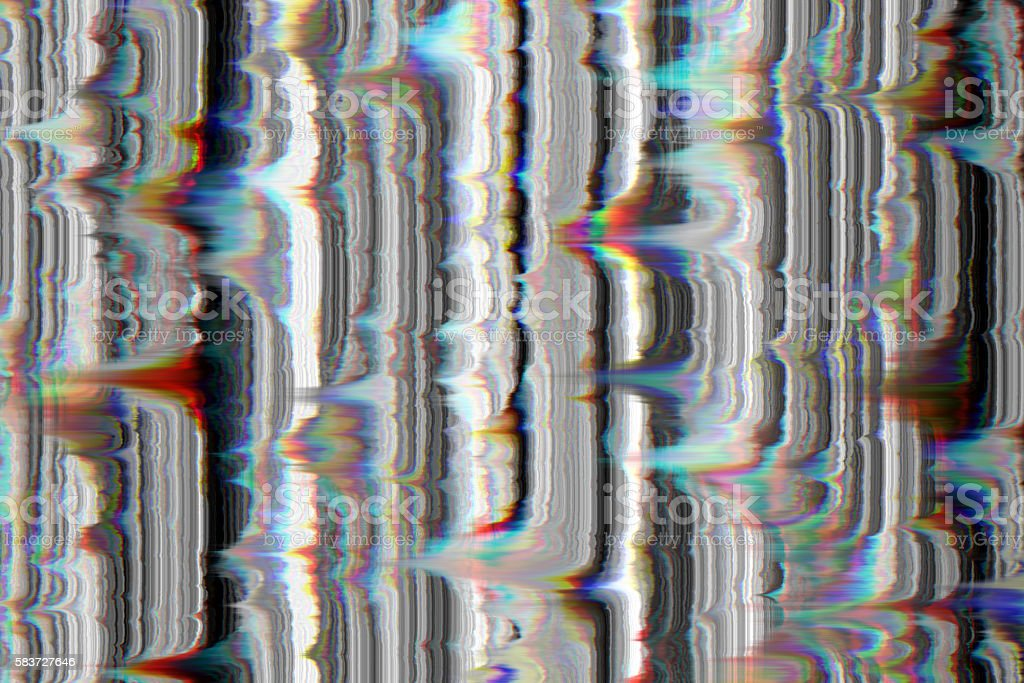 Glitch aesthetic stock photo