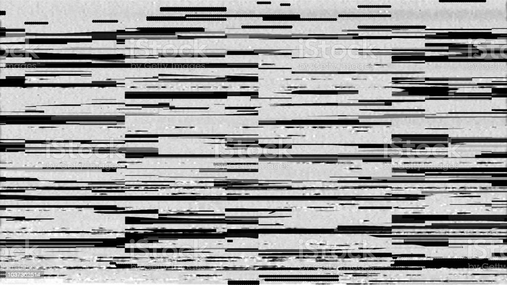 Glitch Displacement Mapglitch Technique Stock Photo - Download Image on