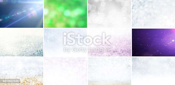 istock Glitter and Defocused Lights Collection 934802546
